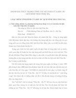 ĐÁNH GIÁ THỰC TRẠNG CÔNG TÁC KẾ TOÁN CỦA KHU DU LỊCH SINH THÁI THÁC ĐA