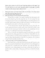 KHÁI QUÁT CHUNG VỀ TỔ CHỨC BỘ MÁY KIỂM TOÁN ĐỘC LẬP VÀ TÁC ĐỘNG CỦA TỔ CHỨC BỘ MÁY KIỂM TOÁN ĐỘC LẬP ĐẾN CHẤT LƯỢNG HOẠT ĐỘNG KIỂM TOÁN
