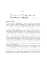 Principal People of Biotechnology