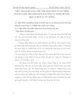 THỰC TRẠNG KẾ TOÁN TIÊU THỤ HÀNG HOÁ VÀ XÁC ĐỊNH KẾT QUẢ TIÊU THỤ HÀNG HOÁ TẠI CÔNG TY TNHH THƯƠNG MẠI VÀ DỊCH VỤ TỨ CƯỜNG