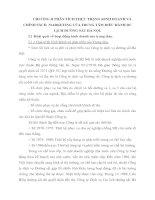 CHƯƠNG II PHÂN TÍCH THỰC TRẠNG KINH DOANH VÀ CHÍNH SÁCH  MARKETING CỦA TRUNG TÂM ĐIỀU HÀNH DU LỊCH ĐƯỜNG SẮT HÀ NỘI
