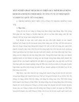 MỘT SỐ BIỆN PHÁP NHẰM HOÀN THIỆN QUY TRÌNH HOẠT ĐỘNG KINH DOANH HÀNG NHẬP KHẨU Ở CÔNG TY XUẤT NHẬP KHẨU VÀ HỢP TÁC QUỐC TẾ COALIMEX