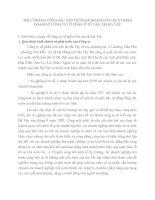 THỰC TRẠNG CÔNG TÁC XÂY DỰNG KẾ HOẠCH SẢN XUẤT KINH DOANH Ở CÔNG TY CỔ PHẦN Ô TÔ VẬN TẢI HÀ TÂY