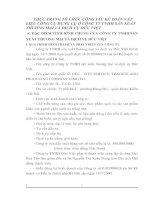 THỰC TRẠNG TỔ CHỨC CÔNG TÁC KẾ TOÁN VẬT LIỆU CÔNG CỤ DỤNG CỤ Ở CÔNG TY TNHH SẢN XUẤT THƯƠNG MẠI VÀ DỊCH VỤ ĐỨC VIỆT