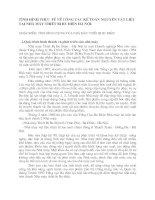 TÌNH HÌNH THỰC TẾ VỀ CÔNG TÁC KẾ TOÁN NGUYÊN VẬT LIỆU TẠI NHÀ MÁY THIẾT BỊ BƯU ĐIỆN HÀ NỘI