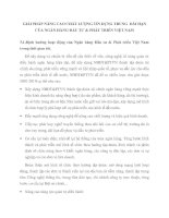 GIẢI PHÁP NÂNG CAO CHẤT LƯỢNG TÍN DỤNG TRUNG  DÀI HẠN CỦA NGÂN HÀNG ĐẦU TƯ