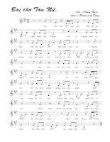 Bài hát bài thơ Tôn Nữ - Phạm Anh Dũng (lời bài hát có nốt)