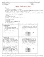 Giáo án Thể dục 6 chuẩn KTKN - Quảng Ngãi
