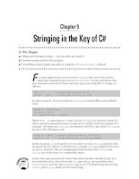 Stringing in the Key of C#