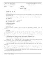 Giáo án Ngữ Văn 8 (rất chi tiết)