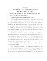 MỐI QUAN HỆ GIỮA CHÍNH SÁCH CUNG TIỀN VỚI MỘT SỐ NHÂN TỐ VĨ MÔ