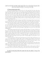 NHỮNG PHƯƠNG HƯỚNG  BIỆN PHÁP CHỦ YẾU NHẰM ĐẨY MẠNH TIÊU THỤ SẢN PHẨM Ở CÔNG TY DA GIẦY HÀ NỘI