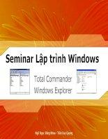 C4W.Win32.Seminar.TotalCommander.WindowsExplorer