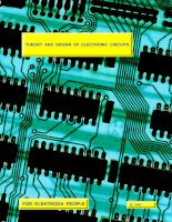Electronics - Theory and Design of Electrical and Electronic Circuits