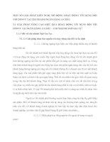MỘT SỐ GIẢI PHÁP KIẾN NGHỊ MỞ RỘNG HOẠT ĐỘNG TÍN DỤNG ĐỐI VỚI DNNVV TẠI CHI NHÁNH NGÂN HÀNG Á CHÂU