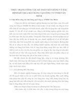 THỰC TRẠNG CÔNG TÁC KẾ TOÁN BÁN HÀNG VÀ XÁC ĐỊNH KẾT QUẢ BÁN HÀNG TẠI CÔNG TY TNHH VĂN MINH