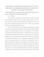 MỘT SỐ ĐỀ XUẤT NHẰM HOÀN THIỆN KẾ TOÁN LƯU CHUYỂN HÀNG HOÁ VÀ XÁC ĐỊNH KẾT QUẢ TIÊU THỤ TẠI CÔNG TYCP KẾN TRÚC VÀ VẬT LIỆU XÂY DỰNG DTH