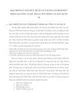 ĐẶC ĐIỂM VÀ TỔ CHỨC QUẢN LÝ TÀI SẢN CỐ ĐỊNH HỮU HÌNH TẠI CÔNG TY KỸ THUẬT NỀN MÓNG VÀ XÂY DỰNG 20