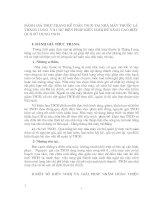 ĐÁNH GIÁ THỰC TRẠNG KẾ TOÁN TSCĐ TẠI NHÀ MÁY THUỐC LÁ THĂNG LONG  VÀ CÁC BIỆN PHÁP KIẾN NGHỊ ĐỂ NÂNG CAO HIỆU QUẢ SỬ  DỤNG TSCĐ.