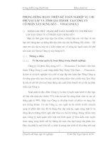 PHƯƠNG HƯỚNG HOÀN THIỆN KẾ TOÁN NGHIỆP VỤ CHI PHÍ XÂY LẮP VÀ TÍNH GIÁ THÀNH  TẠI CÔNG TY              CỔ PHẦN XÂY DỰNG SỐ 5 –  VINACONEX 5