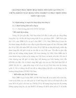 GIẢI PHÁP PHÁT TRIỂN HOẠT ĐỘNG MÔI GIỚI TẠI CÔNG TY CHỨNG KHOÁN NGÂN HÀNG NÔNG NGHIỆP VÀ PHÁT TRIỂN NÔNG THÔN VIỆT NAM