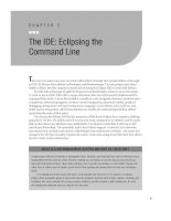 The IDE - Eclipsing the Command Line