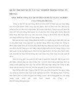 QUẢN TRỊ SẢN XUẤT VÀ TÁC NGHIỆP TRONG CÔNG TY DỆT 8_3