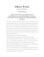 LUYỆN ĐỌC TIẾNG ANH QUA TÁC PHẨM VĂN HỌC-Oliver Twist -Charles Dickens -CHAPTER I1
