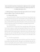 MỘT SỐ PHƯƠNG HƯỚNG NHẰM HOÀN THIỆN KẾ TOÁN TẬP HỢP CHI PHÍ SẢN XUẤT VÀ TÍNH GIÁ THÀNH SẢN PHẨM TẠI CÔNG TY CỔ PHẦN XÂY DỰNG SỐ 5