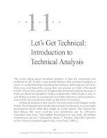 Let's Get Technical - Introduction to Technical Analysis