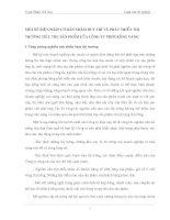 MỘT SỐ BIỆN PHÁP CƠ BẢN NHẰM DUY TRÌ VÀ PHÁT TRIỂN THỊ TRƯỜNG TIÊU THỤ SẢN PHẨM CỦA CÔNG TY PHIM RỒNG VÀNG