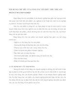 NỘI DUNG CHỦ YẾU CỦA CÔNG TÁC TỔ CHỨC TIÊU THỤ SẢN PHẨM Ở DOANH NGHIỆP