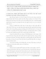 KẾT LUẬN VÀ MỘT SỐ ĐỀ NGHỊ NHẰM HOÀN THIỆN TỔ CHỨC CÔNG TÁC HẠCH TOÁN KẾ TOÁN NVL, CCDC TẠI CÔNG TY TNHH SEIYO VIỆT NAM.