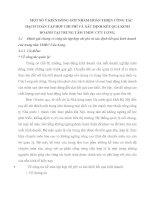 MỘT SỐ Ý KIẾN ĐÓNG GÓP NHẰM HOÀN THIỆN CÔNG TÁC HẠCH TOÁN TẬP HỢP CHI PHÍ VÀ XÁC ĐỊNH KẾT QUẢ KINH DOANH TẠI TRUNG TÂM TMDV CỬU LONG