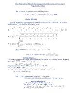 Các bài toán ĐS 9 cực hay, Trong các đề thi HSG các cấp  Huyện - Tỉnh.: x-x.
