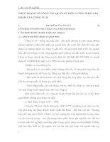 THỰC TRẠNG VỀ CÔNG TÁC QUẢN LÝ TIỀN LƯƠNG THEO SẢN PHẨM CỦA CÔNG TY 20