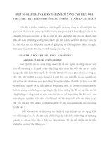 MỘT SỐ GIẢI PHÁP VÀ KIẾN NGHỊ NHẰM NÂNG CAO HIỆU QUẢ CHUẨN BỊ THỰC HIỆN THI CÔNG DỰ ÁN ĐẦU TƯ XÂY DỰNG NHÀ Ở