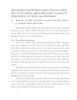 MỘT SỐ KIẾN NGHỊ ĐỂ HOÀN THIỆN CÔNG TÁC TIỀN LƯƠNG VÀ CÁC KHOẢN TRÍCH THEO LƯƠNG TẠI CÔNG TY TNHH DỊCH VỤ VÀ THƯƠNG MẠI THÀNH ĐẠT