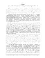 QUÁ TRÌNH THU HOẠCH VÀ CHUẨN BỊ CHO THỊ TRƯỜNG - 1