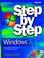 Windows 7 Step by Step- P1