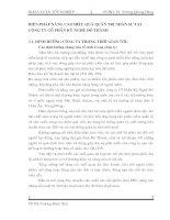 BIỆN PHÁP NÂNG CAO HIỆU QUẢ QUẢN TRỊ NHÂN SỰ TẠI CÔNG TY CỔ PHẦN KỸ NGHỆ ĐÔ THÀNH