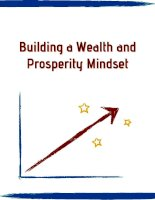 Building a Wealth and Prosperity Mindset