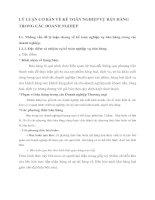 CƠ SỞ THỰC TIỄN VỀ CÔNG TÁC HẠCH TOÁN KẾ TOÁN  TẬP HỢP CHI PHÍ SẢN XUẤT VÀ TÍNH GIÁ THÀNH SẢN PHẨM TẠI CÔNG TY GIẤY VÀ BAO BÌ PHÚ GIANG