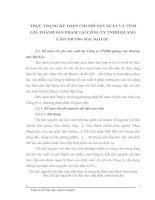 THỰC TRẠNG KẾ TOÁN CHI PHÍ SẢN XUẤT VÀ TÍNH GIÁ THÀNH SẢN PHẨM TẠI CÔNG TY TNHH QUẢNG CÁO THƯƠNG MẠI  ĐẠI LỘC