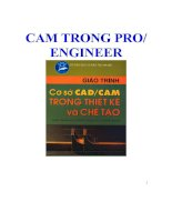 CAM TRONG PRO/ ENGINEER