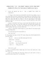 Phần II PHÂN TÍCH THỰC TRẠNG TIÊU THỤ SẢN PHẨM Ở CÔNG TY VIDAMCO THỜI GIAN QUA