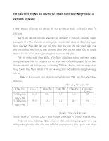 Tìm hiểu thực trạng bộ chứng từ thanh toán xuất nhập khẩu  ở Việt Nam hiện nay