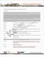 Bài 25: Phỏng Vấn Xin Việc Làm - đối đáp thành thật Transcript Quỳnh Liên và