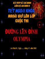 Duong len dinh olympia(tieu hoc)
