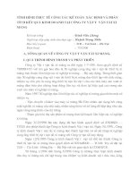 TÌNH HÌNH THỰC TẾ CÔNG TÁC KẾ TOÁN  XÁC ĐỊNH VÀ PHÂN TÍCH KẾT QUẢ KINH DOANH TẠI CÔNG TY VẬT TƯ  VẬN TẢI XI MĂNG